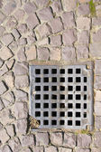 Sewer grate — Stock Photo