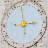 Medieval clock, Croatia — Stock Photo