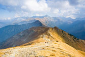 Czerwone Wierchy, Tatra Mountains, Poland — Stock Photo