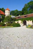 Pieskowa Skala castle near Krakow — Stock Photo