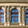 Architecture detail in prague — Stock Photo