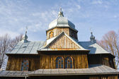 An old Orthodox church in Chmiel, Bieszczady Mountains — Stock Photo