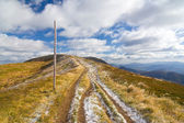 Autumn, Bieszczady mountains — Stock Photo