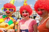 KRAKOW, POLAND - MAY 10, 2013: Juwenalia, is an annual students' holiday in Poland, usually celebrated for three days in late May. May 10, 2013 in Krakow, Poland — Stock Photo