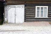 Brown wooden house — Stock Photo