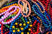 Colored beads — 图库照片