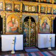 Iconostasis in slovak orthodox church - Stock Photo