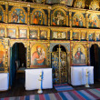 Stock Photo: Iconostasis in slovak orthodox church