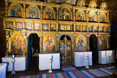 Iconostasis in slovak orthodox church — Stock Photo
