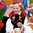 "Stock Photo: LOCHOW, POLAND -JUNE 25, 2011: International Folklore Meetings ""Kupalnocka"" is festival, which is listed in calendar of cultural events Mazovias colorful artists and public meetings devote"