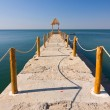 Stock Photo: Pier over Waters