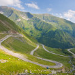 Transfagarasan mountain road, Romanian Carpathians — Stock Photo #29098545