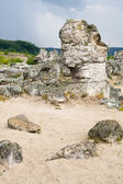 Phenomenon rock formations in Bulgaria around Beloslav - Pobiti kaman — Stock Photo