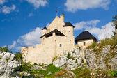 Medieval castle in Bobolice, Poland — Stock Photo