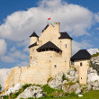 medieval castle in Bobolice, Poland — Stock Photo