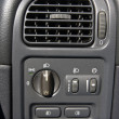 Air conditioner in the car — Stock Photo