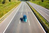 高速道路上のトラフィック — ストック写真