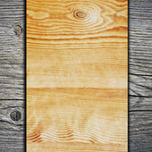 Wood wall and plank background or texture. Wooden wall. — Stock Photo