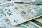 Seamlessly tileable and repeatable 100's PLN (polish zloty) — Stock Photo