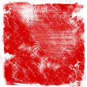 Подробные красный гранж-фон — Стоковое фото