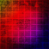Grunge checkered background — Stock Photo