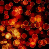 Bright colorful circles with bokeh background — 图库照片