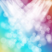 Bright colorful valentines day bokeh background — 图库照片