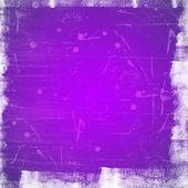 Violet scratched vintage background — Zdjęcie stockowe