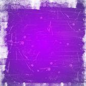 Violet scratched vintage background — Stockfoto