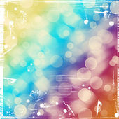 Bright colorful circles with bokeh background  — Foto de Stock