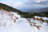 Hala Gasienicowa, winter landscape, High Tatra Mountains — Stockfoto