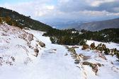 Hala Gasienicowa, winter landscape, High Tatra Mountains — Zdjęcie stockowe