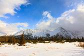 Hala Gasienicowa, winter landscape, High Tatra Mountains — Стоковое фото