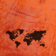 Map world on paper background — Stock Photo #42794361