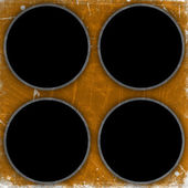 Grunge cirkels achtergrond — Stockfoto