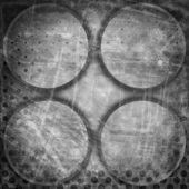 Fond de cercles de grunge — Photo