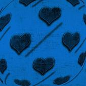 валентина фон с сердечками — Стоковое фото