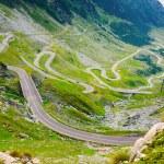 Transfagarasan mountain road, Romanian Carpathians  — Stock Photo #46089355