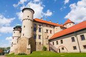 View of Nowy Wisnicz castle, Poland — Stock Photo