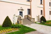 Renaissance castle in Niepolomice, Poland — Stock Photo