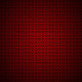 Red background with hearts  — Foto Stock