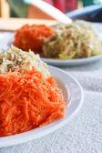 Healthy carrot salad.  — Stock Photo