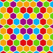 Hexagon pattern — Stock Photo