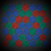 Grunge geometric hexagon pattern — Stock Photo