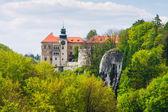 Castle Pieskowa Skala in National Ojcow Park, Poland  — 图库照片