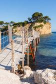 Agios Sostis, small island in Greece, Zakynthos — Stock Photo