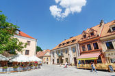 Sandomierz, Poland - MAY 23: Sandomierz is known for its Old Town, which is a major tourist attraction. MAY 23, 2014. Sandomierz, Poland.  — Stock Photo