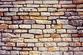Vintage stone wal — Stock Photo