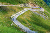 Transfagarasan mountain road, Romanian Carpathians  — Stock Photo
