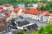 Aerial view, Kazimierz Dolny, Poland — Stock Photo